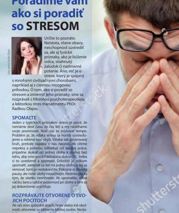 Ako zmierniť stres